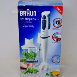Minipimer Braun Con Accessori