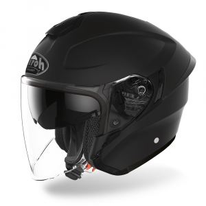 CASCO JET MOTO AIROH H.20 COLOR BLACK MATT 2020 H211