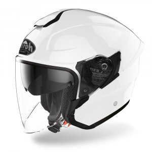 CASCO JET MOTO AIROH H.20 COLOR WHITE GLOSS 2020 H214