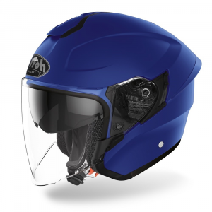 CASCO JET MOTO AIROH H.20 COLOR BLUE MATT 2020 H219