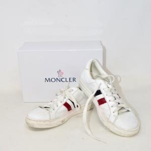 Scarpe Bianche Moncler N35 Unisex