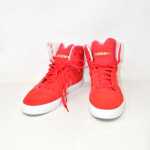 Scarpe Adidas Nero N 42 2/3 Rosse