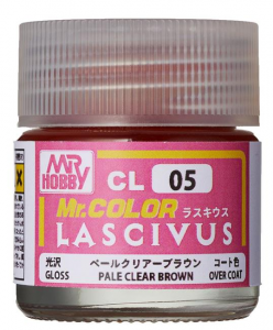 LASCIVUS PLAE CLEAR BROWN gloss 10ml