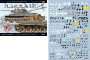 PANZERWAFFE 1941-43