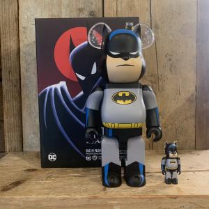 Be@rbrick Medicom Toy Batman 100% + 400% The Animated Series