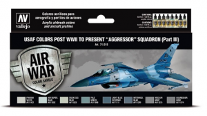 "USAF colors post WWII to present ""Aggressor"" Squadron Part III"