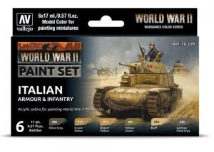 WWII Italian Armour & Infantry