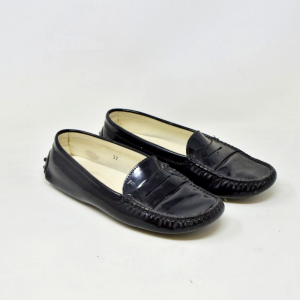 Mocassino Donna Tods Nere Lucide N