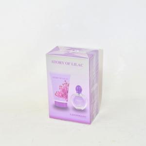Crema Corpo+profumo Donna Story Of Lilac