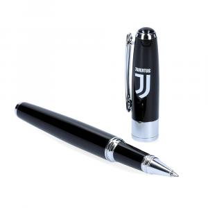 JUVENTUS - Penna laccata nera in box regalo