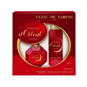 Ulric De Varens D´Orient Rubis Eau De Parfum Spray 50ml Set 2 Parti 2019