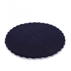 VELO DI FATA smerlato rotondo 23 cm BLU (500 pezzi)