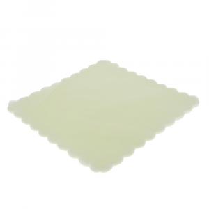 VELO DI FATA smerlato quadrato 23 cm PANNA (500 pezzi)