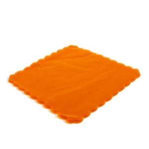 VELO DI FATA smerlato quadrato 23 cm ARANCIO (500 pezzi)