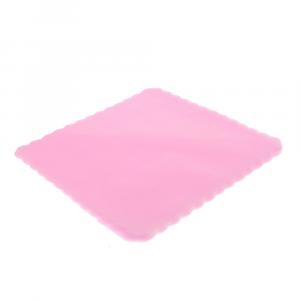 VELO DI FATA smerlato quadrato 23 cm ROSA (500 pezzi)
