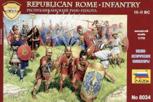 Republican Rome. Infatry III-I B.C.