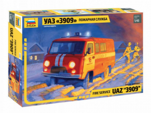 UAZ 3909 Fire service