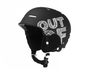 Casco Snowboard Out Of Black White