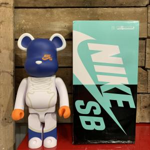 Be@rbrick Nike SB White 1000%