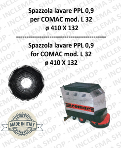 L 32 spazzola lavare PPL 0,9 per lavapavimenti COMAC