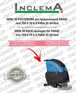 MMx 43 goma de secado trasero para fregadora FIMAP (From s/n 211014837)