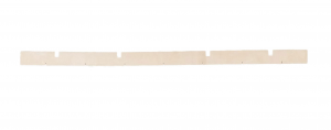 H 810 goma de secado delantera para fregadora DULEVO