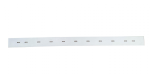 RA 431 IBC Gomma Tergi trasero para fregadora CLEANFIX - Squeege curvo