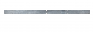H 607 Front Squeegee rubber for scrubber dryer DULEVO