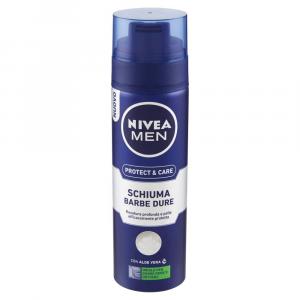 NIVEA MEN Protect and Care Schiuma Barbe Dure 300ml