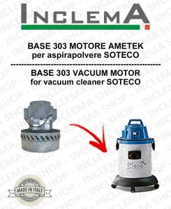 BASE 303 Ametek Saugmotor für Staubsauger SOTECO