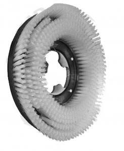FLEXY 75 Standard Bürsten  in PPL 0,60 Größe ø 375 x 132,5 für Scheuersaugmaschinen COMAC