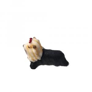 YORKSHIRE cane per la casa delle bambole in resina