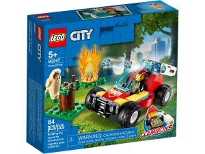LEGO CITY INCENDIO NELLA FORESTA 60247