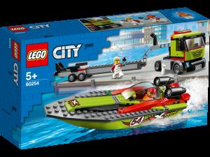 LEGO CITY TRASPORTATORE DI MOTOSCAFI 60254