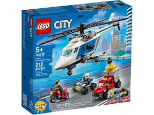 LEGO CITY INSEGUIMENTO SULL'ELICOTTERO DELLA POLIZIA 60243