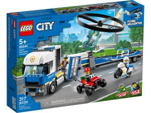 LEGO CITY TRASPORTATORE DI ELICOTTERI DELLA POLIZIA 60244