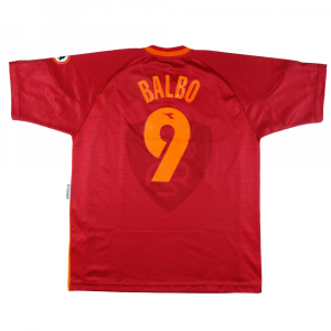 1997-98 As Roma Maglia Match Worn/Issue #9 Balbo C.O.A