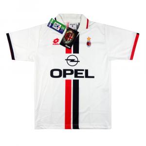 1995-96 Ac Milan Maglia Away S *Nuova