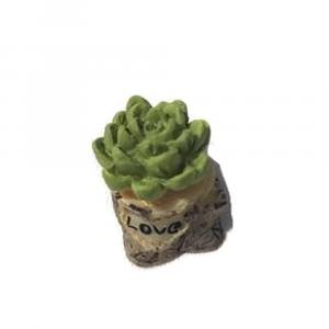 PIANTA verde in miniatura per la casa delle bambole