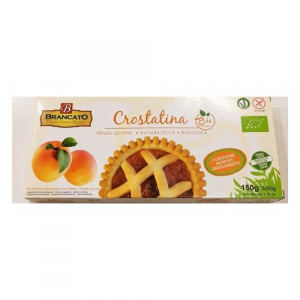 Crostatine all'albicocca, senza glutine, Vegan e Biologiche