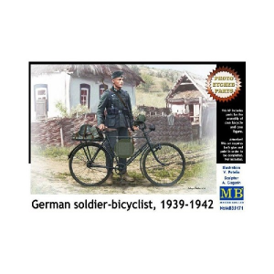 German Soldier-bicyclist 1939-1942