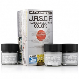 J.A.S.D.F. Aluminized Old-Timer Color Set (3 x 10ml)