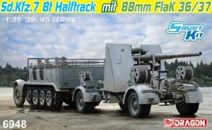Sd.Kfz.7 8(t) Halftrack + 88mm FlaK 36/37