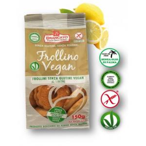 Frollino al limone senza glutine e vegano