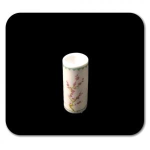 VASO floreale in miniatura per la casa delle bambole in ceramica