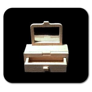 SPECCHIERA in miniatura per la casa delle bambole in legno