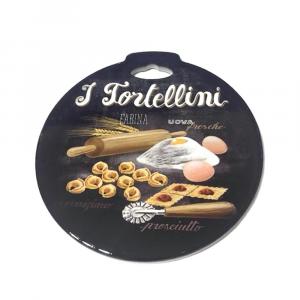 Sottopentola I tortellini in ceramica con base in sughero