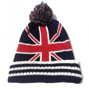 Cappello invernale Bandiera britannica adulto