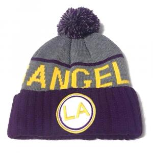 Cappello invernale Los Angeles con pompon