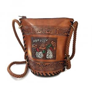 Borsetta in salpa decorata souvenir Abruzzo
